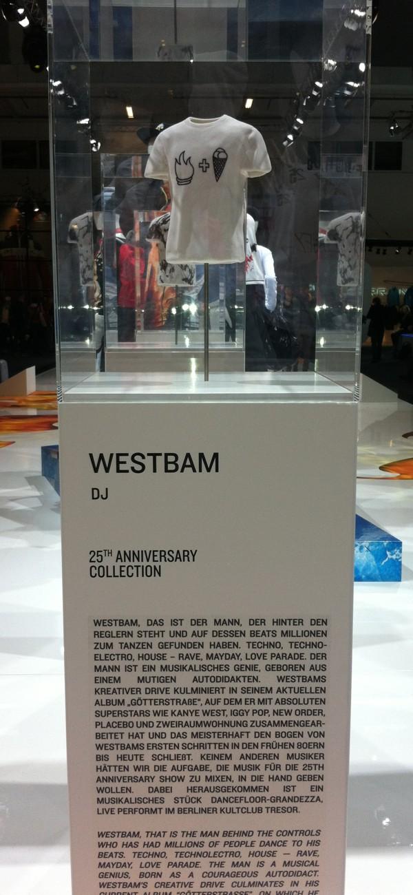 Westbam t shirt
