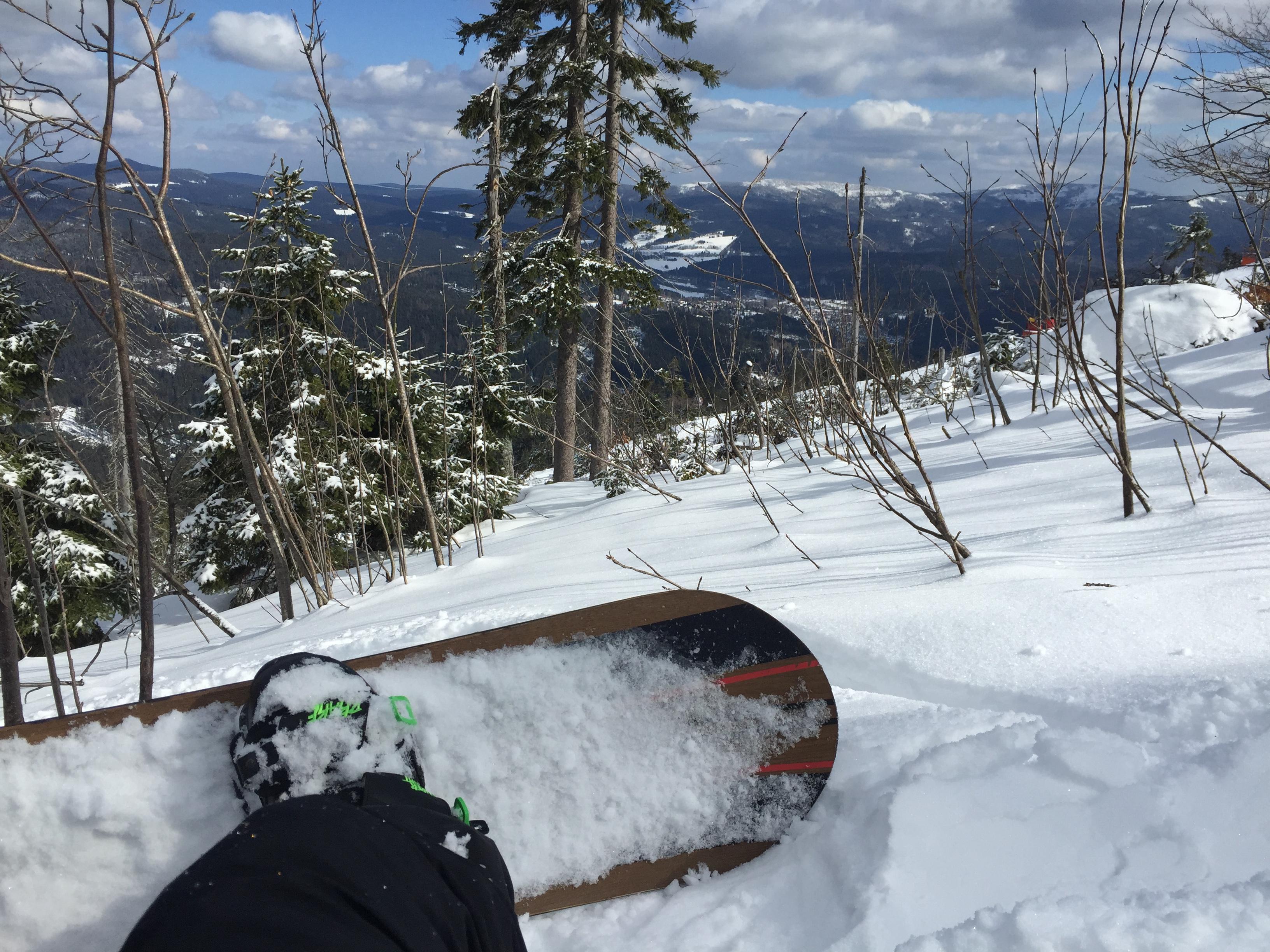 Snowboarde = gelebte Work-Live-Balance