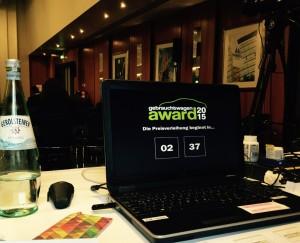 Countdown Gebrauchtwagen Award 2015