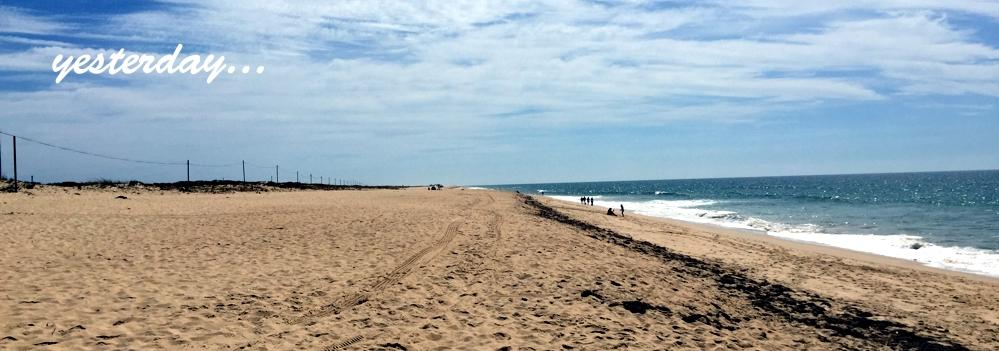 Beach near Faro, Portugal