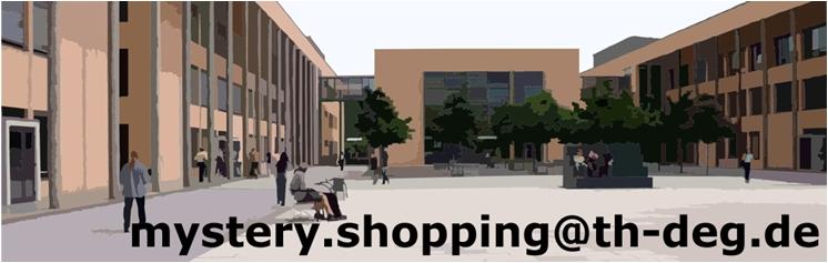Mystery Shopping Projekt TH Deggendorf 2015