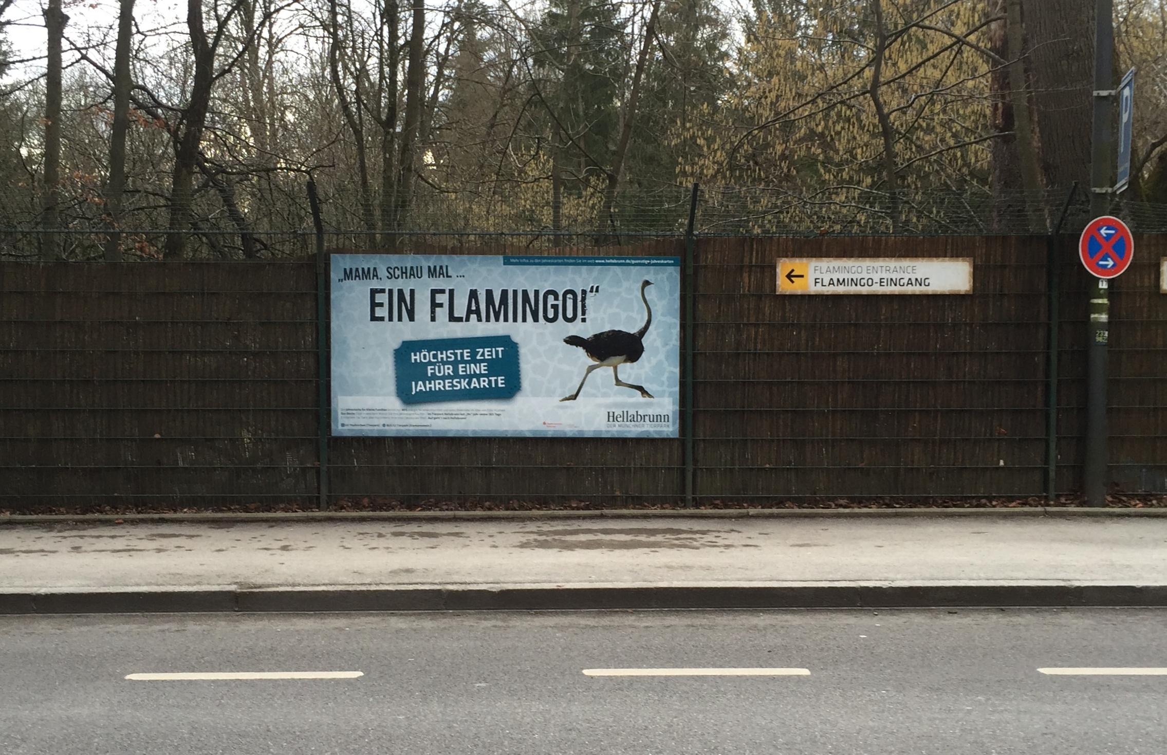 Werbung Hellabrunn München