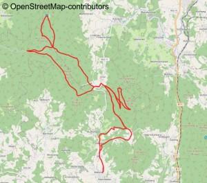 Mountainbike Tour im bayerischen Wald: Vogelsang und Hirschenstein