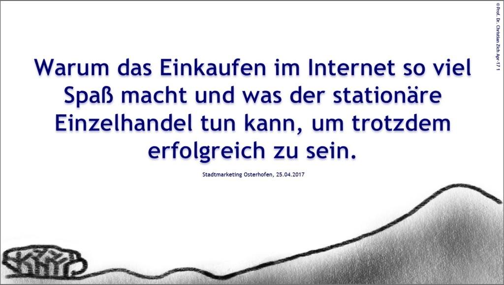 Vortrag in Osterhofen