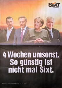 Sixt- Werbung