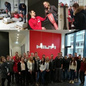 Exkursion zu Hilti Deutschland AG nach Kaufering