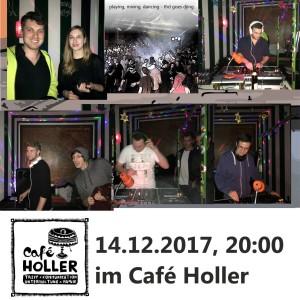Abschluss des ersten DJ-Kurses an der technischen Hochschule Deggendorf im Café Holler