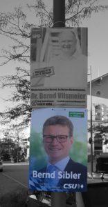 Wahlplakat der CSU