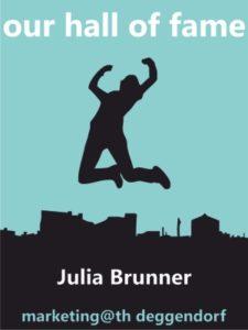 Die Bachelorarbeit von Frau Julia Brunner