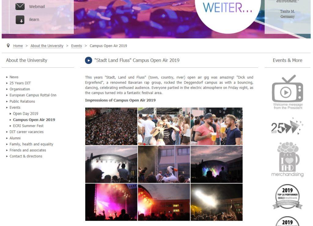 Bericht vom Campus Open Air 2019 – das Konzert der Gruppe dicht und ergreifend.