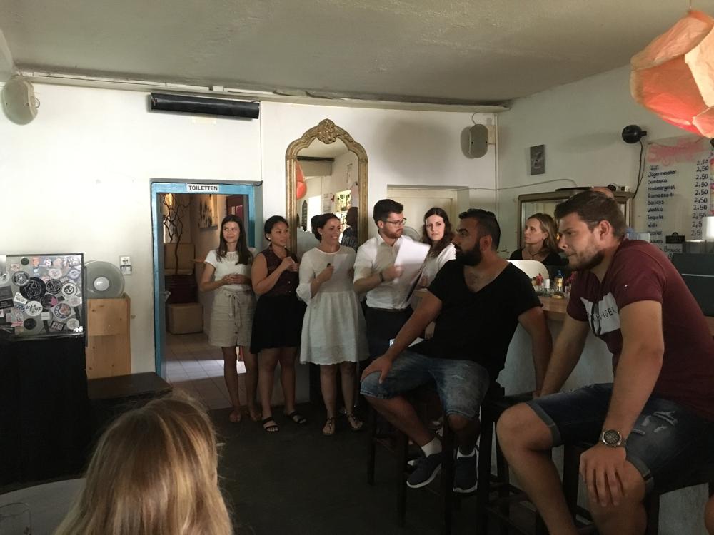 Abschlusspräsentation der Studierenden der Technischen Hochschule Deggendorf