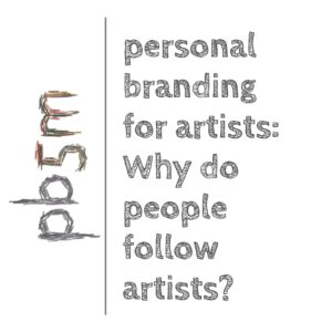 Why do people follow artists on Instagram? The third part of the survey results on personal branding for artists.