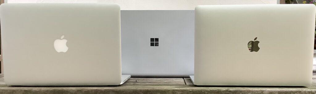 Macbook vs. Surface Book